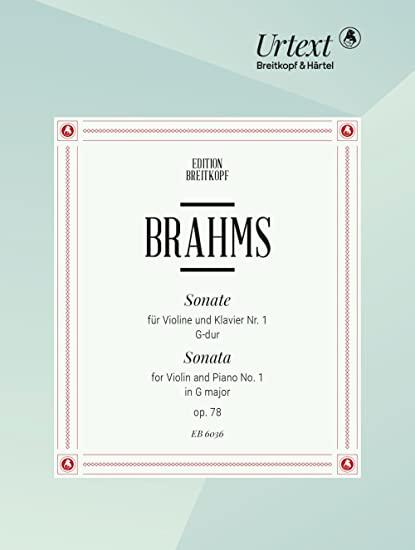 SonateinG-Durop.78.JohannesBrahms
