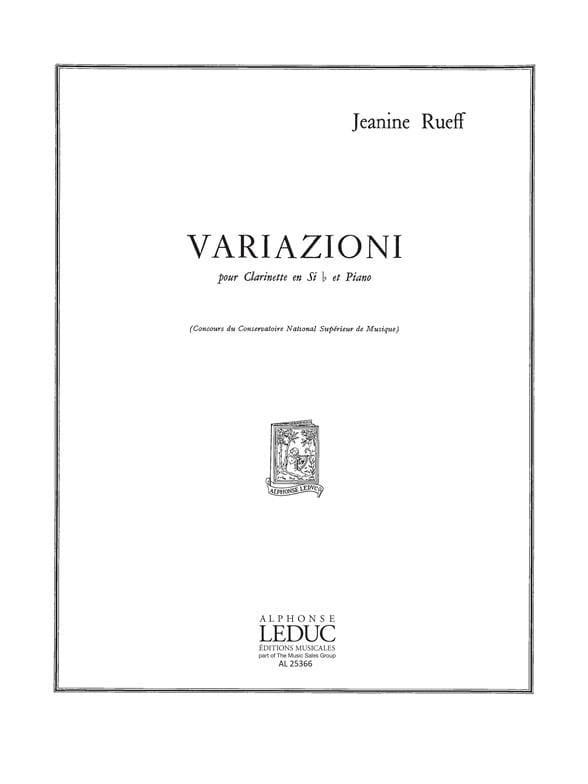 Variazioni. Jeanine Rueff