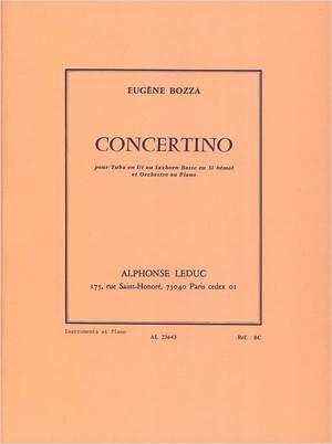Concertino(1938)para saxofón alto y orquesta. Eugene Bozza