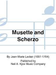 MusetteandScherzo. Jean Leclair