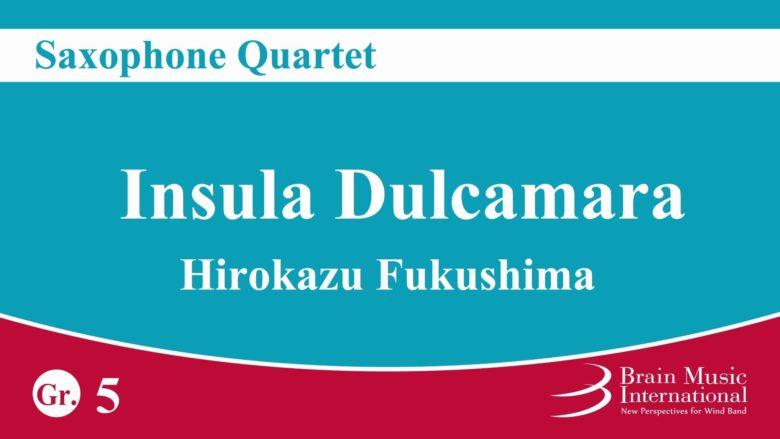 InsulaDulcamara(2006)para saxofón. Hirokazu Fukushima