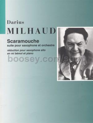 Scaramouche(1937)para saxofón alto y piano. Darius Milhaud