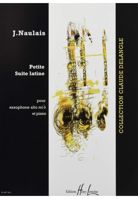 PetiteSuiteLatine(1996)para saxofón alto y piano. Jerome Naulais