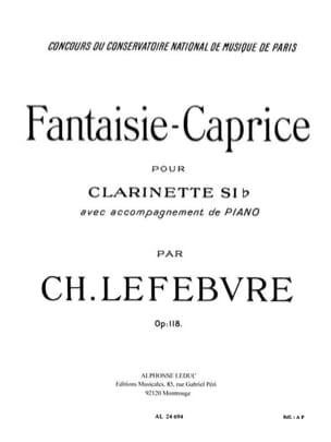 Fantaisie-Capriceop.118. Charles Lefebvre