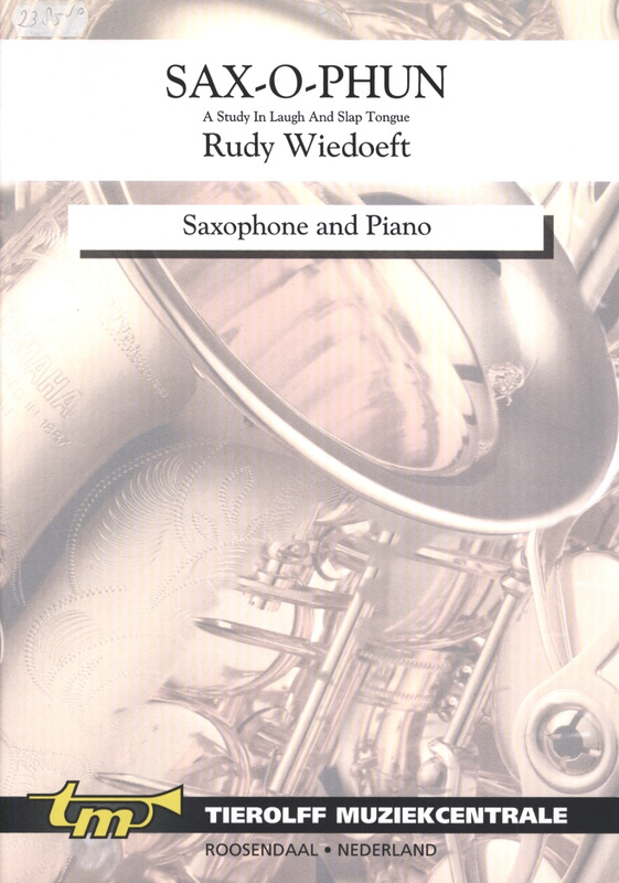 Sax-O-Phunpara saxofón alto y piano. Rudy Wiedoeft
