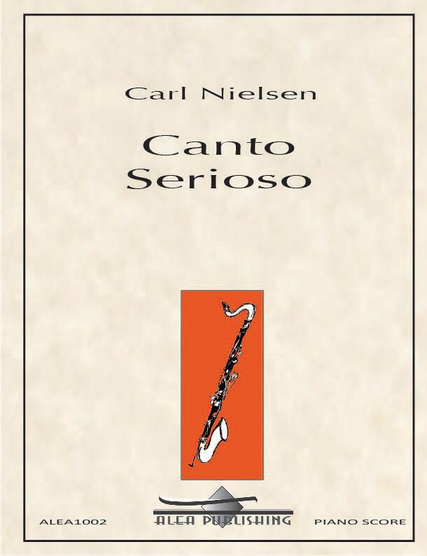 CantoSeriosopara clarinete bajo y piano. CarlNielsen