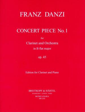 KonzertstückNo.1inB-Durop.45(1813)para clarinete y orquesta.FranzDanzi