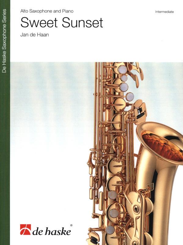 SweetSunset(2015) para saxofón alto y piano. Jande Haan