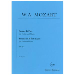 SonateinB-DurKV454. WolfgangAmadeusMozart