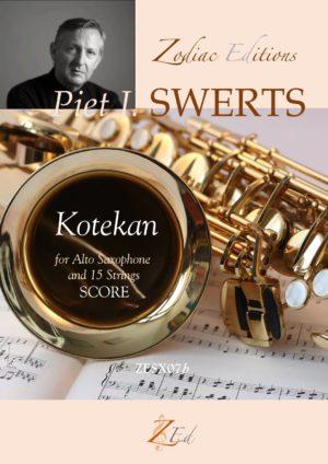Kotekan(2006) para saxofón alto y cuerdas. PietJozef Swerts