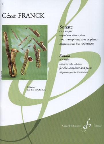 SonateinA-Durpara saxofón alto y piano.CesarFranck