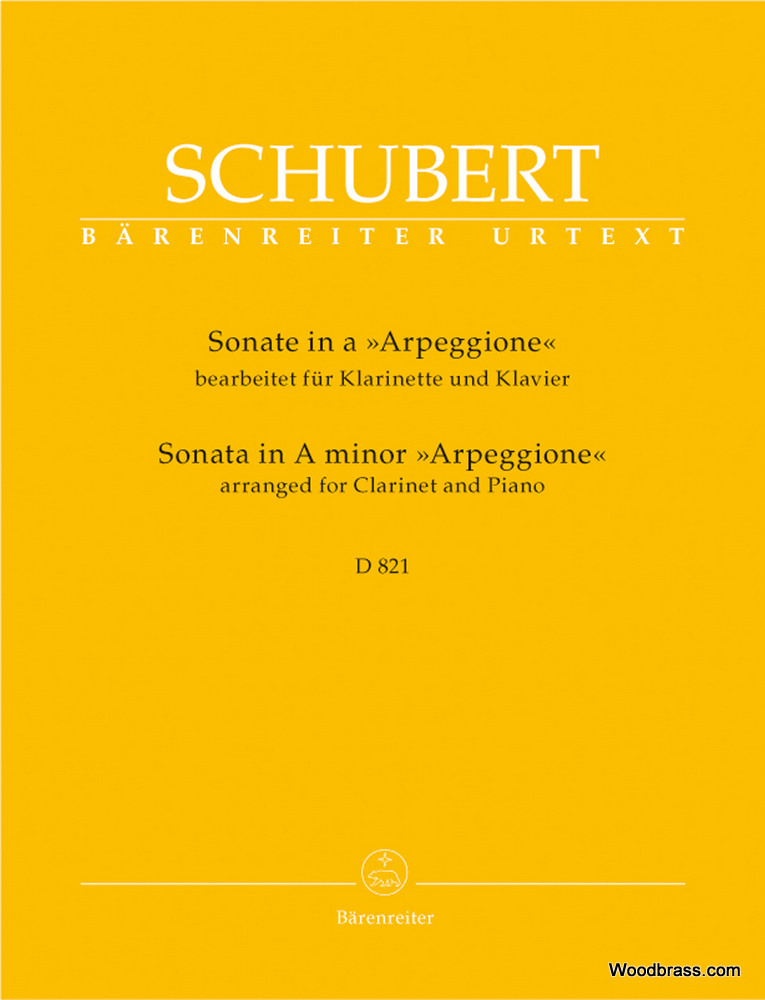 SonataArpeggioneD821para saxofón y piano. FranzSchubert