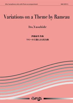 VariationsonaThemebyRameaupara saxofón alto y piano(1989) Yasuhide Ito