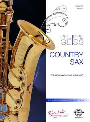 CountrySax(2011)para saxofón alto y piano. Philippe Geiss
