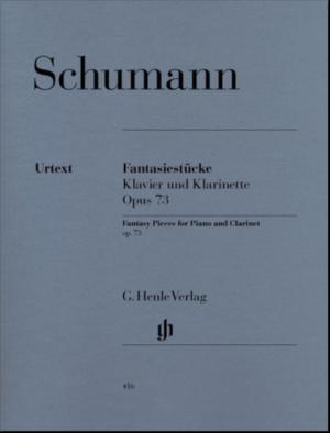 Fantasiestückeop.73para clarinete. RobertSchumann
