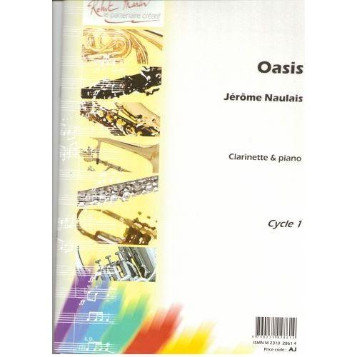 Oasispara clarinete y piano. Jerome Naulais