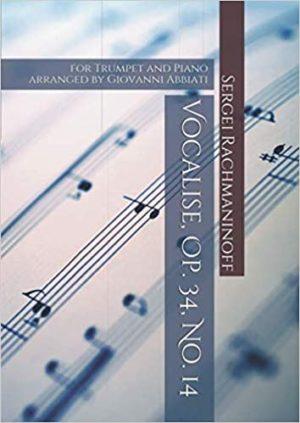 Vocaliseop.34No.14para clarinete bajo y piano. SergeiRachmaninoff