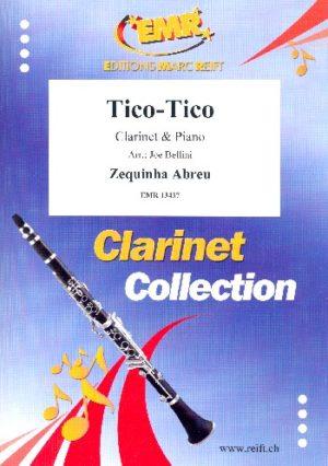 TicoTicopara clarinete y piano. ZequinhaAbreu