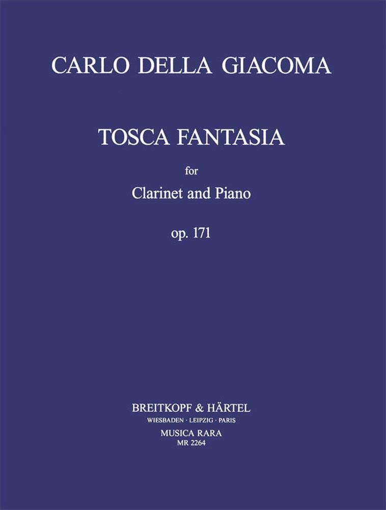 ToscaFantasiaop.171(1900)para clarinete y piano. CarloDellaGiacoma