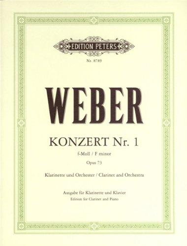 KonzertNo.1inf-mollop.73para clarinete y piano. CarlMariavonWeber