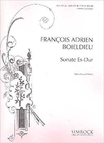 DeuxiemeSonateinEs-Durpara clarinete y piano. FrancoisDevienne
