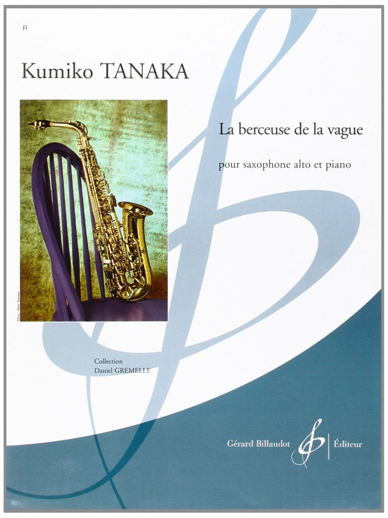 LaBerceusedelaVague(2003)para saxofón alto y piano.Kumiko Tanaka