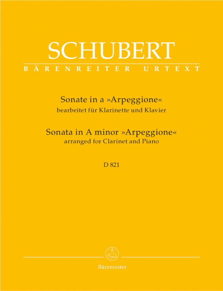 Sonataina-mollD821'Arpeggione'para clarinete basset en A.FranzSchubert
