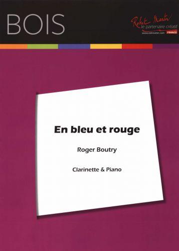 EnBleuetRouge(1995)para clarinete y piano. Roger Boutry