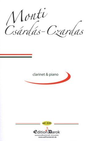 Czardaspara clarinete y piano. VittorioMonti