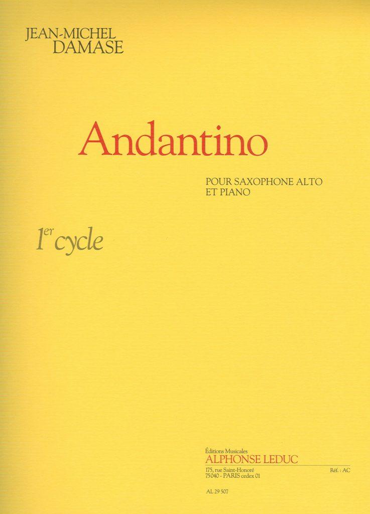 Andantino.Jean-Michel Damase
