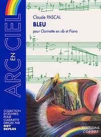 Bleu. Claude Pascal
