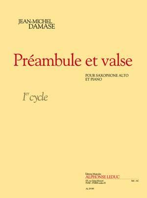 PreambuleetValse. Jean-Michel Damase