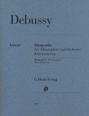 Rhapsodiepara saxofón alto y orquesta. ClaudeDebussy
