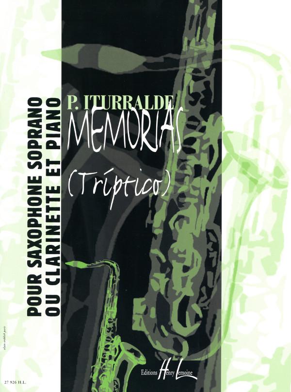 Memorias(Triptico)(2004)Pedro Iturralde
