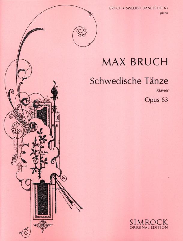 SchwedischeTänzeop.63para clarinete y piano. MaxBruch