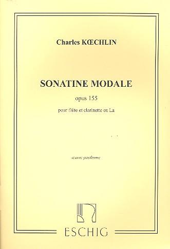 SonatineModaleop.155para flauta y clarinete en A. Charles Koechlin