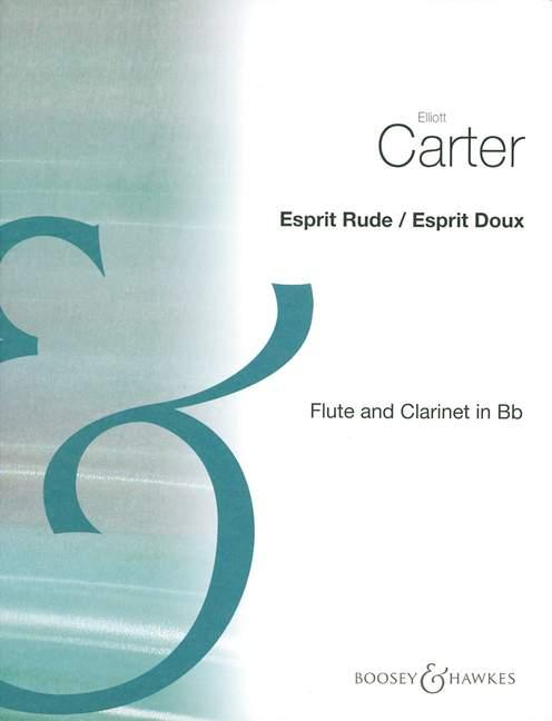 EspritRude/EspritDoux(1984) Elliott Carter