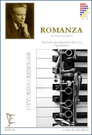 Romanzapara clarinete en A o Bb y piano. OttorinoRespighi