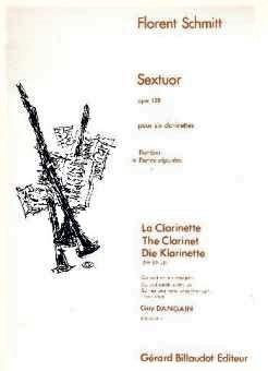 Sextuorop.128(1953)para clarinete. Florent Schmitt