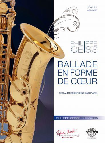 BalladeenFormedeCoeur(2011)para saxofón soprano y piano. Philippe Geiss