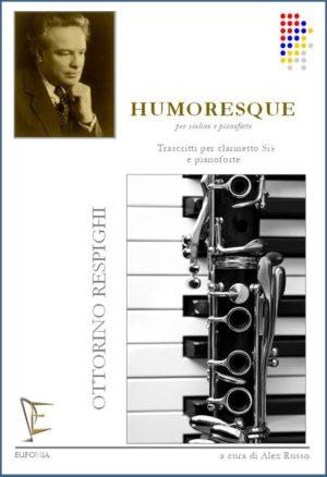 Humoresquepara clarinete y piano. OttorinoRespighi