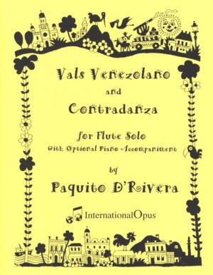 ValsVenezolanoandContradanzapara soprano solista o saxofón tenor. Paquitod'Rivera