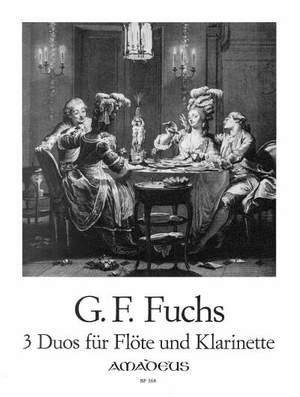 DreiDuosop.19para flauta y clarinete. GeorgFriedrichFuchs
