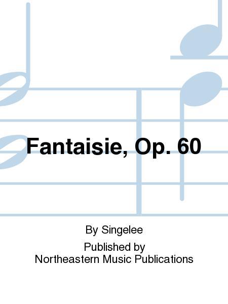 Fantaisieop.60(1858) para saxofón barítono y piano. Jean-BaptisteSingelee