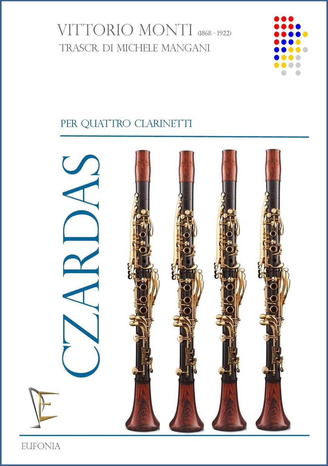 Czardaspara clarinete y piano. Vittorio Monti