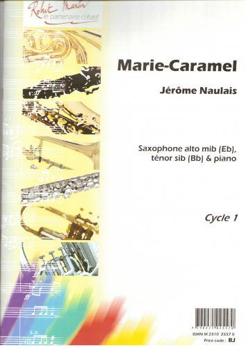 Marie-Caramel(1994)para saxofón tenor o alto y piano. Jerome Naulais
