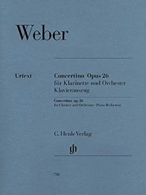 Concertinoop.26para clarinete.CarlMariavonWeber