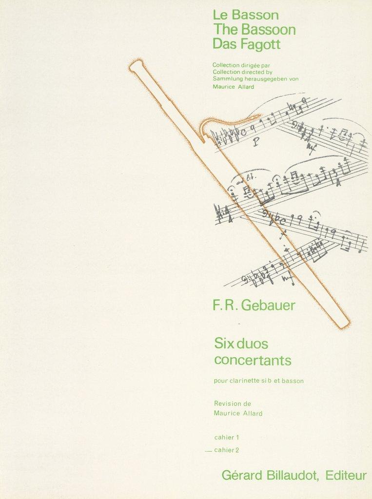 6DuosConcertants. Francois-ReneGebauer