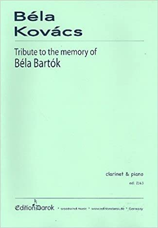 Tribute to the Memory of Bela Bartok (2013) Béla Kovács