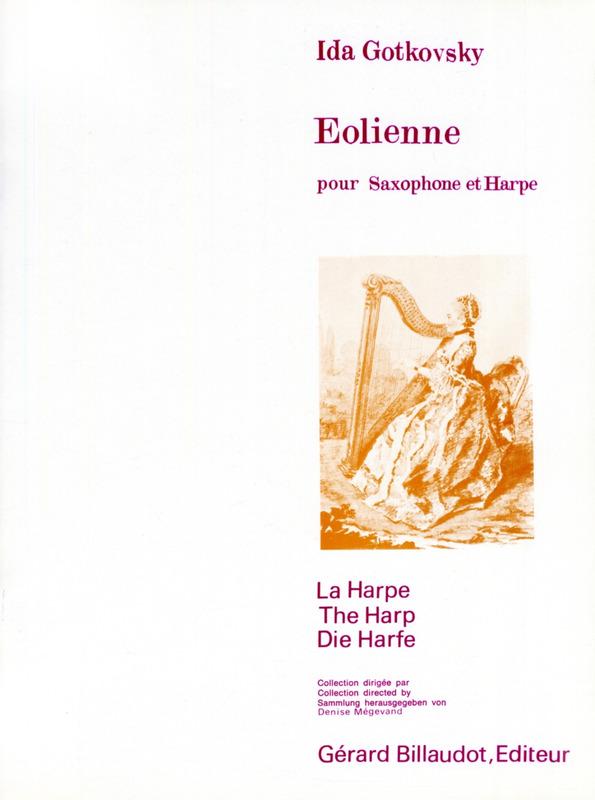 Eolienne(1979) para saxofón alto. Ida Gotkovsky